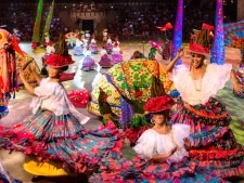Xcaret carnival evening show