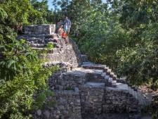 Xcaret Mayan ruins